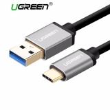 Beli Ugreen Usb 3 Untuk Tipe C Data Sync Pengisian Kabel Dengan Konektor Aluminium Hitam 1 5M Nyicil