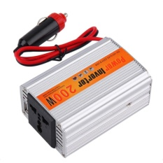 Beli Uinn 200 W Mobil Auto Inverter Adaptor Power Supply 12 V Dc Papan 220 V Ac Laptop Computer Silver Online Terpercaya