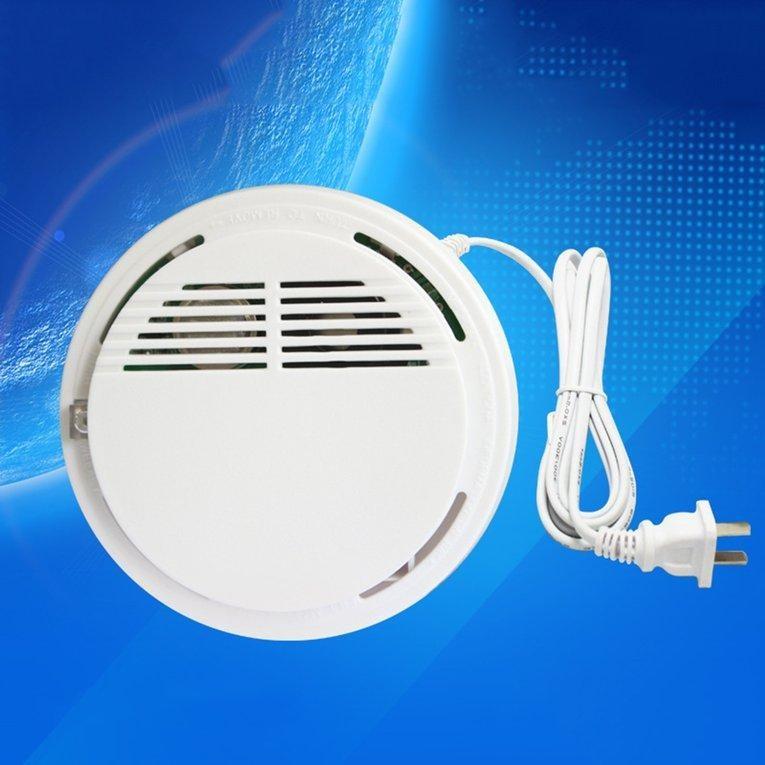 UINN 801 Ceiling Mounted Mudah Terbakar Gas Detector Security Alarm Sistem Proteksi Kebakaran Indipendent Jenis-Internasional