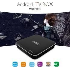 UINN M8S PRO + untuk Android 7.1 TV Box S905X 64 Bit 2 GB RAM 16 GB ROM Media Player -Intl