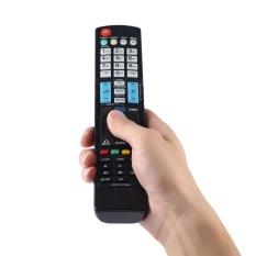 UINN Universal Smart TV Remote Kontrol untuk LG AKB73275605 Home Theater System Black-Intl