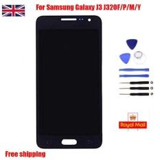 UK Layar LCD Hitam Layar Sentuh Digitizer untuk Samsung Galaxy J3 J320F/P-Intl