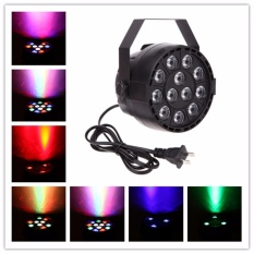 Harga U King 12 Led Par Light Stage Light Disco Party Light Live Led Proyeksi Cahaya Club Dj Pencahayaan Rgbw Dmx 512 Sound Activated Master Slave 8 Channel Nightclub Efek Pencahayaan Intl U King Asli