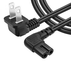 [UL listed]Powseed 6.5FT AC wall power cord plug 2 prong cable IEC-60320 IEC320 C7 for Sony Dell Toshiba Acer Asus Gateway HP MSI Compaq Led Lcd Tv Samsung Lg Sharp Canon Pixma Epson Lexmark charger - intl