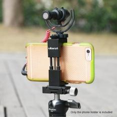 Beli Ulanzi Adjustable Smartphone Clip Clamp Bracket Pemegang Paduan Aluminium Dengan Sepatu Dingin Mount 1 4 Lubang Sekrup Untuk Iphone 7 7 Plus 6 6 S 6 Plus Outdoorfree Nyicil