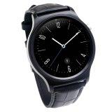 Jual Ulefone Gw01 Smart Watch Ips Bulat Layar Kehidupan Tahan Air Hitam Intl Baru