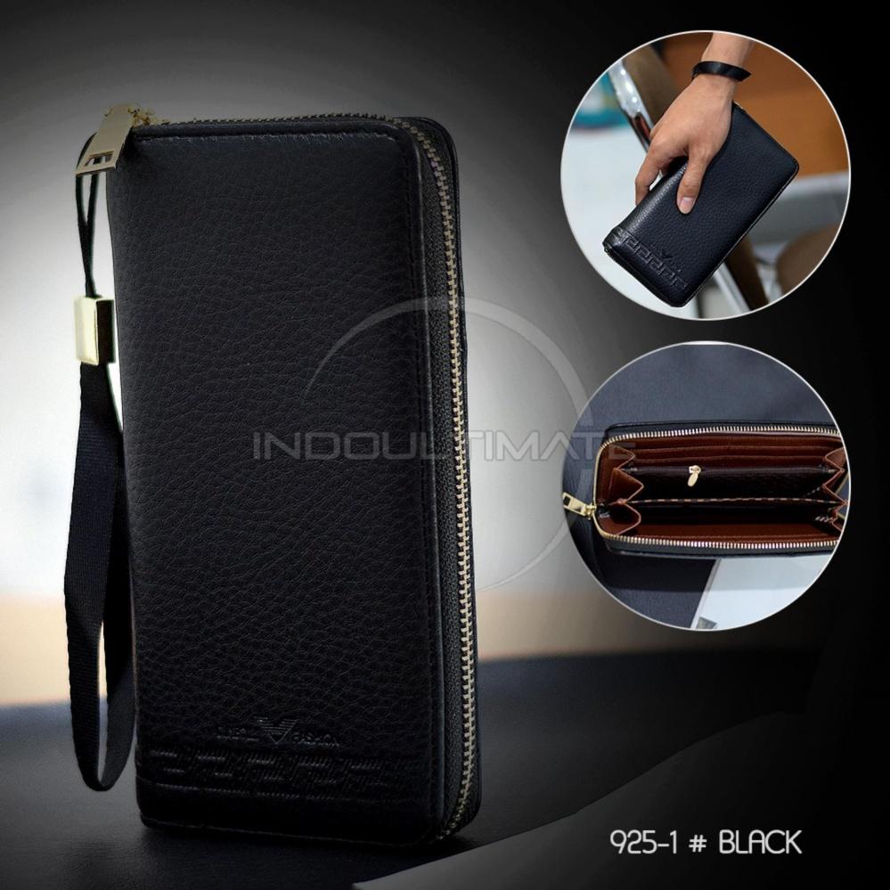 Jual Ultimate Dompet Pria Fs 9251 Black Dompet Cowok Kartu Atm Panjang Kulit Import Murah Lengkap