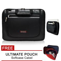 Jual Ultimate Softcase Slave Laptop Cover Single Kevlar Mx 14 Hitam Free Ultimate Cable Pouch Murah