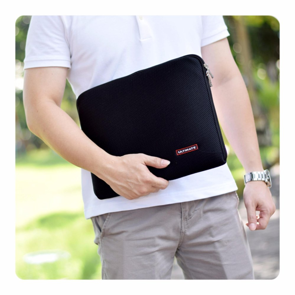 Ultimate Tas Laptop Cover Softcase Laptop Bag Backpack 14 Inchi Rx Black Ultimate Diskon 50