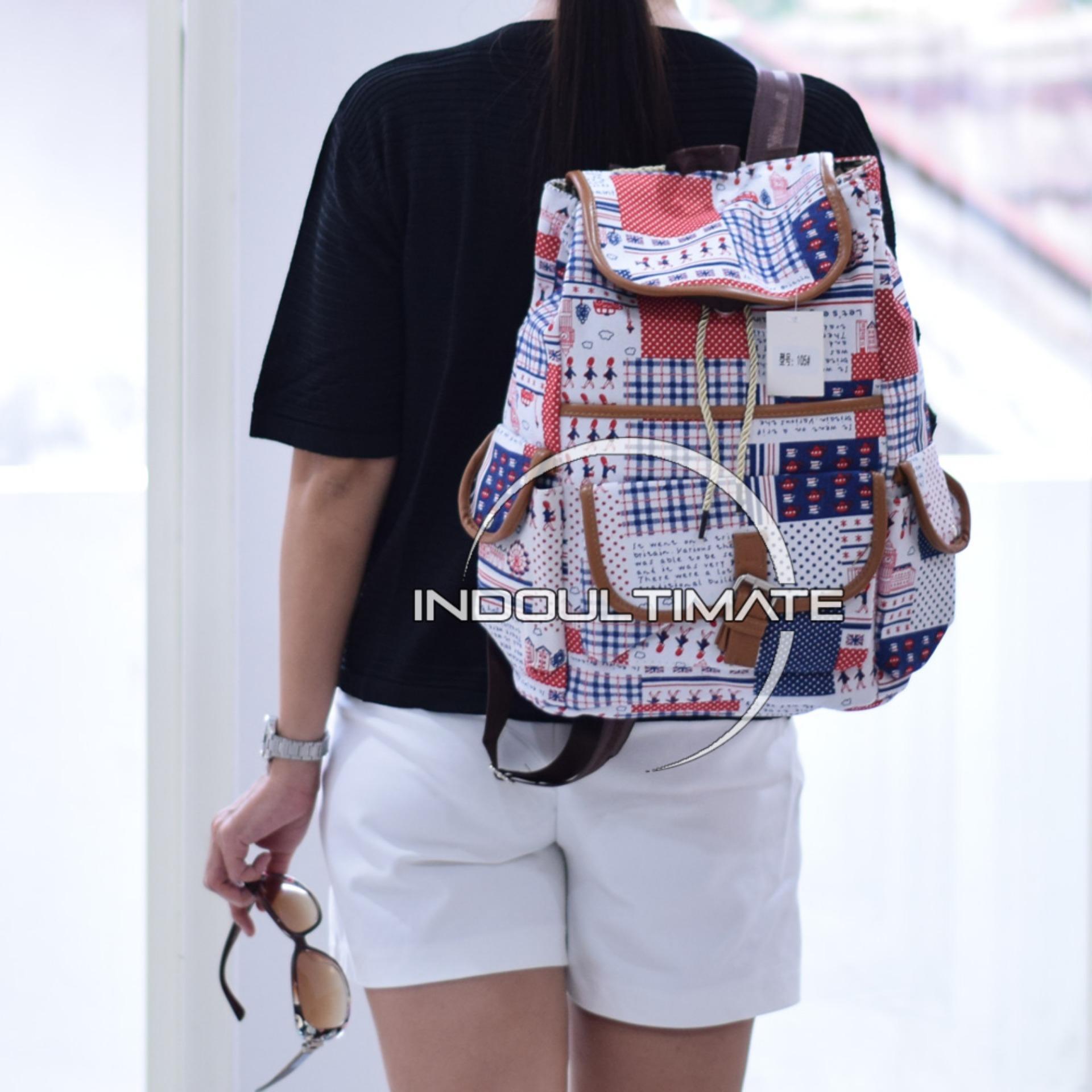 Ultimate Tas Wanita JS-105 / Backpack Anak Cewek Sekolah Remaja Korea Import  Batam Murah Branded / Tas Laptop Perempuan Cantik / Tas Sekolah Anak