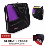 Review Tentang Ultimate Tas Bag Cover Softcase Backpack Laptop Pria Wanita Double X 14 Purple Free Ultimate Cable Pouch