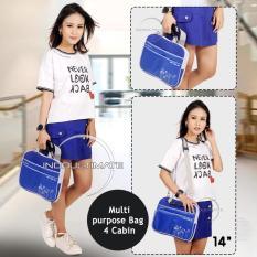 Toko Ultimate Tas Bag Softcase Cover Backpack Laptop Triple Flower 14 Biru Online Di Indonesia