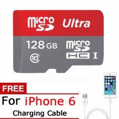 Harga Ultra 128 Gb Microsdxc™ Kartu Memori Class 10 Untuk Samsung Huawei Xiaomi Smartphone Free Charging Cable Untuk Iphone 5 6 7 Asli Intl Oem Terbaik