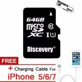 Spesifikasi Ultra 64 Gb Microsd Tf Memory Card Kelas 10 Untuk Samsung Huawei Xiaomi Smartphone Free Charging Cable Untuk Iphone 5 6 7 Asli Intl Paling Bagus