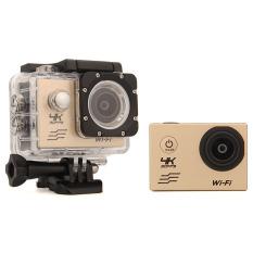Jual Ultra Hd 4 Kb Wifi Kamera Aksi 30 M Waterproof Camcorder Olahraga Gold Export Di Bawah Harga