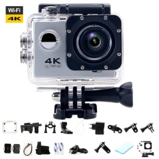 Ultra HD 4 K WiFi Action Camera Sport DV LCD 170D Len Helm Kamera Bawah Air Go Menyelam Tahan Air Pro Camcorder 1080 P 16MP Kamera