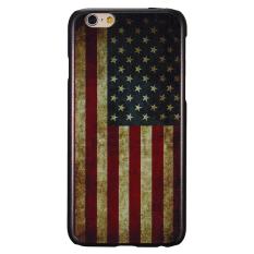 Bendera Nasional Pola Sangat Keras Kembali Penutup Case untuk IPhone 6/6 S 4.7