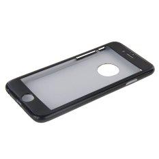 Beli Ultra Tipis 360 Derajat Penuh Perlindungan Case With Warna Yang Solid Berkasnya Berukuran Dan Telah Diterjemahkan Ke Dalam Bahasa Kaca Film For Bertabiat Eksklusif Iphone 6 Hitam Yang Bagus