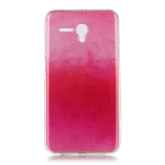 Ultra Slim Fit Lembut Tpu Telepon Kembali Case Cover untuk Alcatel OneTouch Pop 3 5.5 Inch (hot Pink)