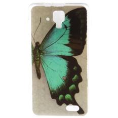 Sangat Tipis dan Lembut Pas Telepon TPU Case Belakang PENUTUP untuk Lenovo A536 (These Butterflies)