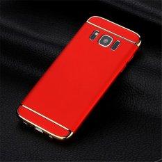 Ultra Slim Hard Armor Shell Hibrida Edge Plating Punggung Aksesoris Phone Cover Case untuk Samsung Galaxy S8/Samsung S8 -Intl