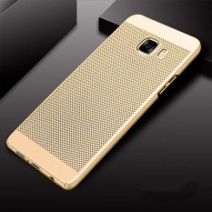 Ultra Slim Mesh Case Lightweight Heat Dissipation Anti-Scratch Premium Hard PC Anti-fingerprint Shell Protective Case Cover for Samsung Galaxy C5 Pro - intl