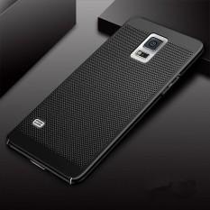 Ultra Ramping Penyimpanan Jala Ringan Disipasi Panas Anti Gores Premium Hard Pc Anti Sidik Jari Shell Pelindung Case Cover untuk Samsung Galaxy S5 -Intl