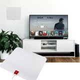 Toko Ultra Thin 50 Miles Digital Tv Hdtv Antenna Amplifier 16Ft Cable Eu Plug Intl Terlengkap Tiongkok