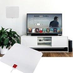 Beli Ultra Thin 50 Miles Digital Tv Hdtv Antenna Amplifier 16Ft Cable Eu Plug Intl Pakai Kartu Kredit