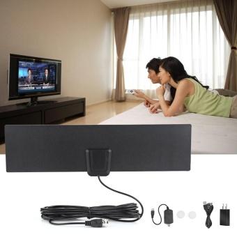Harga preferensial Ultra-tipis 50 Miles Range High Gain Penguat Indoor Digital Flat TV HDTV