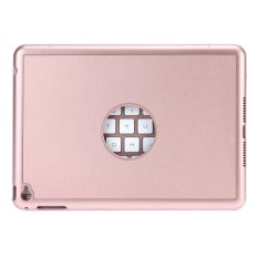 Promo Ultra Tipis 7 Warna Backlit Bluetooth Keyboard Smart Folio Case Untuk Ipad Mini 4 Rose Gold Intl Murah