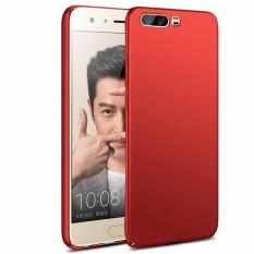 Ultra Tipis Yang Sangat Baik Grip Case Cover Bumper Scratch Resistant Dilapisi Premium PC Bahan Perlindungan Slim Sepenuhnya Cover Kulit untuk Huawei Honor 9-Intl