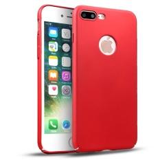Ultra Tipis Hard Shockproof Case Cover Kulit Film untuk IPHONE 7/7 Plus Produk Merah IPhone 7 Plus- INTL