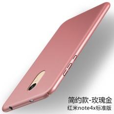 Ultra Tipis Matte PC Hard Back Cover Case untuk Xiao Mi Merah MI CATATAN 4X (3 GB RAM, 16/32 GB ROM)-Intl