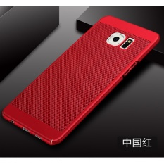 Ultra Tipis Slim Dot Hard PC Belakang Sampul Case untuk Samsung Galaxy S6 Edge Plus-Internasional