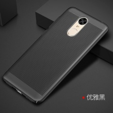 Ultra Tipis Slim Mesh Hard Pc Back Cover Case untuk Huawei Enjoy 6-Intl