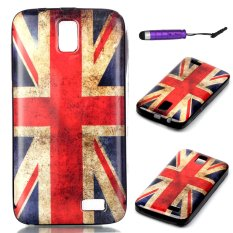 Ultra-thin Soft TPU Back Case Cover for Lenovo A328 (Union Jack) - intl