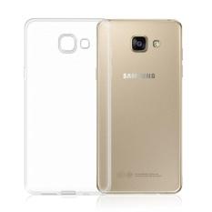 Ultra-Tipis TPU Lunak Bening Case Kristal Transparan Slim Antiselip Case Cover Pelindung Bagian Belakang Shockproof untuk Samsung Galaxy A710/A7 2016 (Crystal transparan) -Intl