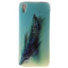Ultra Tipis Lembut Tpu Telepon Kembali Case Cover untuk Alcatel One Touch Idol 3 4.7 Inch (bulu)