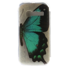 Ultra Thin Soft TPU Phone Back Case Cover For Alcatel One Touch Pop C5 (Butterfly)