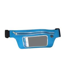 Ultra-Tipis Terjamah Tahan Air Tas Pinggang For Sports Georgia Saku IPhone 6 S PLUS 5 S 5 Samsung Galaxy S6 Edge S5 Catatan 5 J7 HTC Desire 816 Satu M8 M9 11.94 Cm Papan 14.48 Cm Ponsel Biru