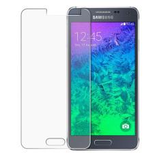 Ultra Tipis 0.3mm Transparansi HD Film Pelindung Layar Kaca Temper Ledakan-bukti Anti Meledak untuk Samsung Galaxy Alpha G850 (jelas)