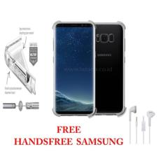 Ultrathin Anti Shock Samsung S8 Softcase Anti Jamur Anti Crack Samsung s8 Air Case 0.3mm / Silicone / Soft Case s8  / Case Hp S8 Free Handsfree Samsung -  Transparant