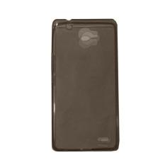 Ultrathin Case For Infinix Note 2 X600 UltraFit Air Case / Jelly case / Soft Case  - Hitam