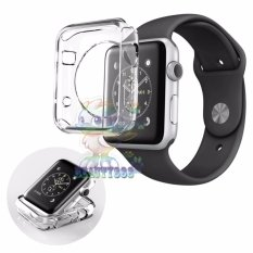 Review Ultrathin Jelly Protection Crystal Case For Apple Watch Apple Watch 38 Mm 1St Generation Iwatch Soft Silicone Pelindung Jam Silicone Apple Watch Bening Beauty Di Dki Jakarta