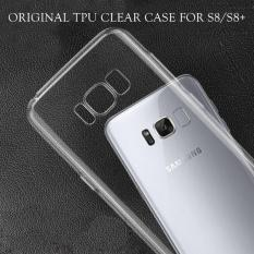 LOLLYPOP Ultrathin TPU Jelly Samsung Galaxy S8 - Clear/Transparant Bening Softcase Silicone Backcase Backcover
