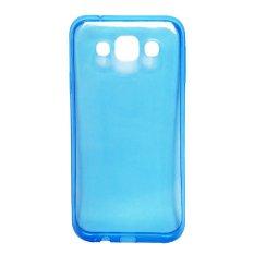 Ultrathin Softcase Huawei P9 Transparant - Biru