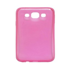 Ultrathin Softcase Samsung Tab 3V Transparant - Pink
