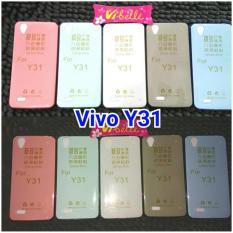 Ultrathin Softcase Vivo Y31 / Ultra Thin Soft Back Jely Case Vivoy31