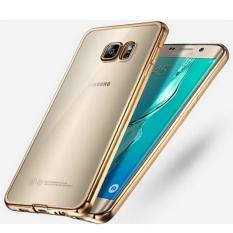 LOLLYPOP Ultrathin TPU Shining Chrome Case For Samsung Galaxy A5 2016 - Gold/Emas Jelly Case Softca